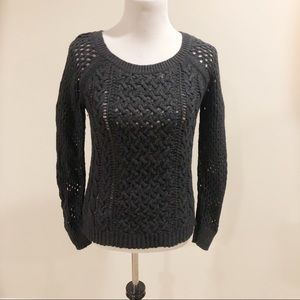 American Eagle open knit Sweater Size Small